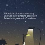 Flyer Lichtverschmutzung Titelseite