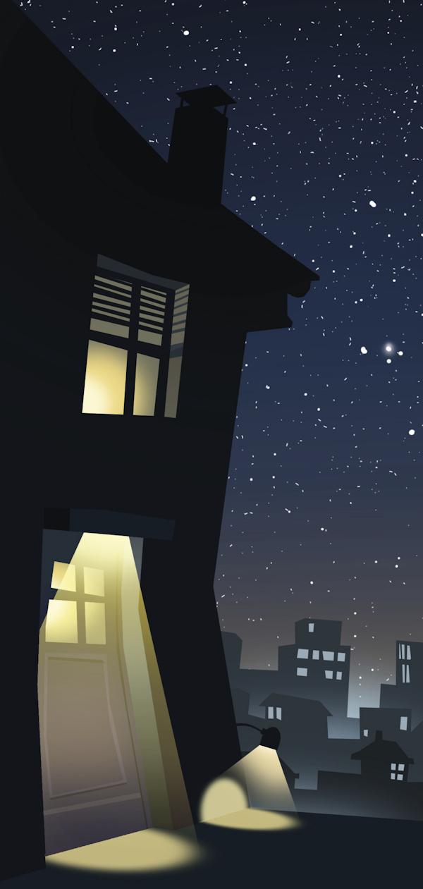 Optimales Außenlicht zur Reduzierung von Lichtverschmutzung