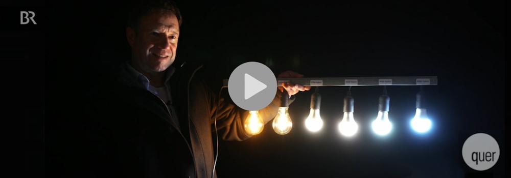 Insektensterben durch Lichtverschmutzung, Paten der Nacht bei BR QUER