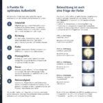 Lichtverschmutzung Flyer